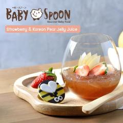 Baby Spoon Jelly Juices (Korean Pear & Strawberry)