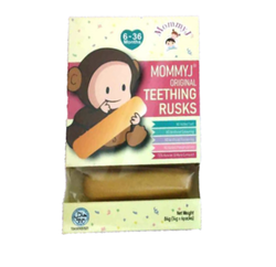 [MommyJ] Teething Rusks 84g (14g x 6 rusks)