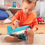 [Wonder Wheels by Battat] Airplane Toy Encourages Imaginative Play VE1007Z - 1year+