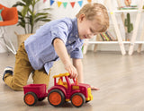 [Wonder Wheels by Battat] Tractor & Trailer Toy Encourages Imaginative Play - 1year+