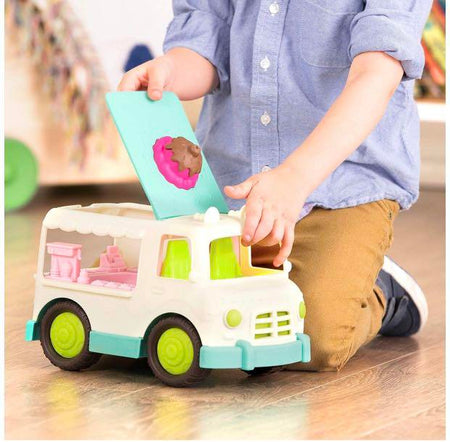 [Wonder Wheels by Battat] Ice Cream Truck Pretend Play Toy VE1022Z - 1year+