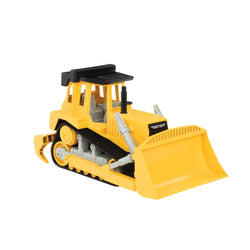 [Driven by Battat] Midrange Series - Bulldozer Yellow Mid-Sized Toy Truck - With Realistic Sounds - Available in 6 designs