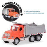 [Driven by Battat] Micro Series Dump Truck with Realistic Lights and Sounds WH1006Z - 4years+