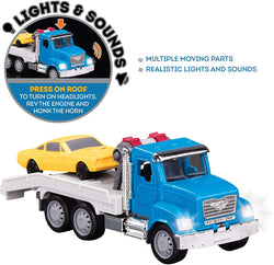 [Driven by Battat] Micro Series Tow Truck with Realistic Lights and Sounds WH1008Z - 4years+