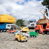 [Driven by Battat] Micro Series Crane Truck with Realistic Lights and Sounds WH1011Z - 4years+