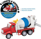 [Driven by Battat] Micro Series Cement Mixer Truck with Realistic Lights & Sounds WH1014Z - 4years+