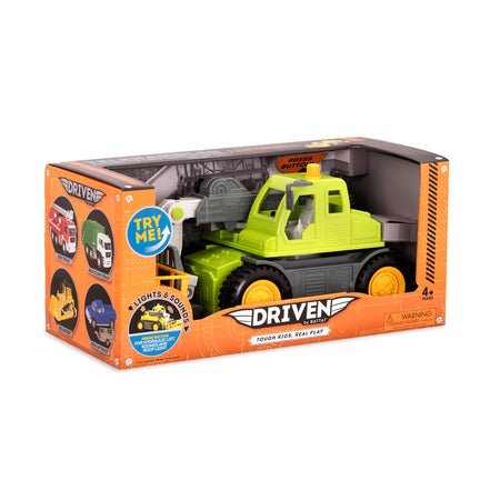 [Driven by Battat] Midrange Series - Telehandler Mid-Sized Toy Truck in Green - Available in 6 Designs