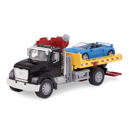 [Driven by Battat] Standard Series Tow Truck with 1 Car - With Realistic Lights & Sounds - Available in 6 Designs