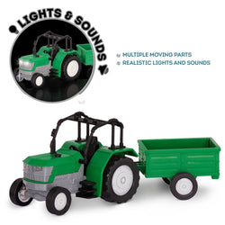 [Driven by Battat] Micro Series Tractor with Realistic Sounds WH1071Z - 3years+