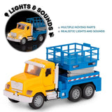 [Driven by Battat] Micro Series Scissor Lift Truck with Realistic Lights and Sounds WH1074Z - 4years+