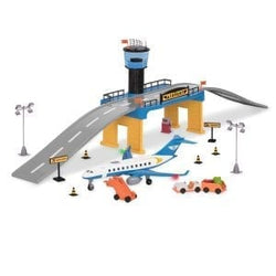 [Driven by Battat] Airport Play Set - With Realistic Lights and Sounds - Available in 3 Designs