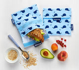 [Roll'Eat] Snack'n'Go - Animal Design - Reusable Sandwiches / Snack / Food Bag, Dirty-Proof & Waterproof