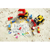 [Drawnby:] Work Zone Washable Silicone Colouring Mat + 14pcs Markers Set