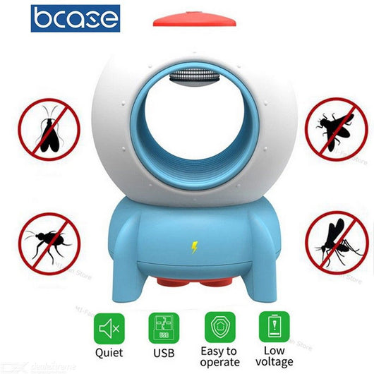 [Xiaomi] Bcase Rocket Mosquito Killer, Suitable for Children, Cute design, Physical Mosquito Eradication, Sleep at Ease, UltraViolet Light