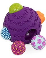 [B.Toys] Ballyhoo Balls Sensory Play with 1 Large Ball and 5 Small Balls - 6months+