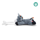 [Zazu] Universal Pacifier Holder Soft Toy, Dexy the Dog / Lizzy the Lamb / Donny the Donkey - 0months+