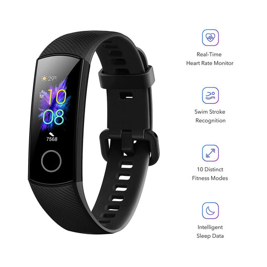 [Huawei] Honor band 5 Amoled Display,tracks oxygen saturation levels,Training Various Exercises Types (Global Version)