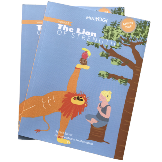 [MiniYOGI] Kids Yoga Book - MiniYOGI Volume 3: The Lion of Strength (Available in Collection of 3 Series)