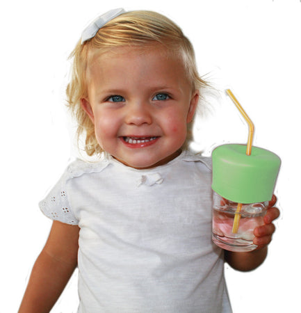 [Label Label] Silicone cover for Straw (Sippy Straw Top)