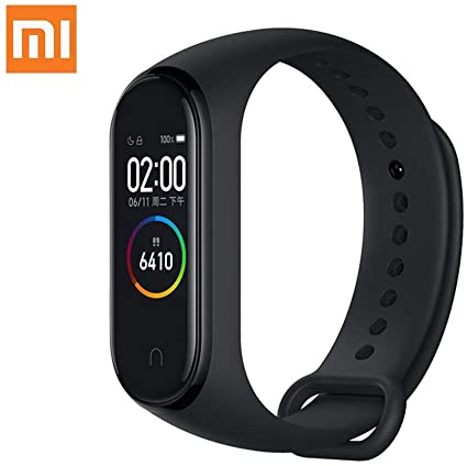 [Xiaomi] Mi Band 4 (Global Version) Heart Rate Monitor Fitness Tracker Color Screen Wristband (BLACK)