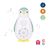[Zazu] Baby Sound Machine Night Light with Wireless Speaker and Cry Sensor, Zoë the Penguin - 0months+