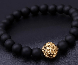 Lion Head Matte Black