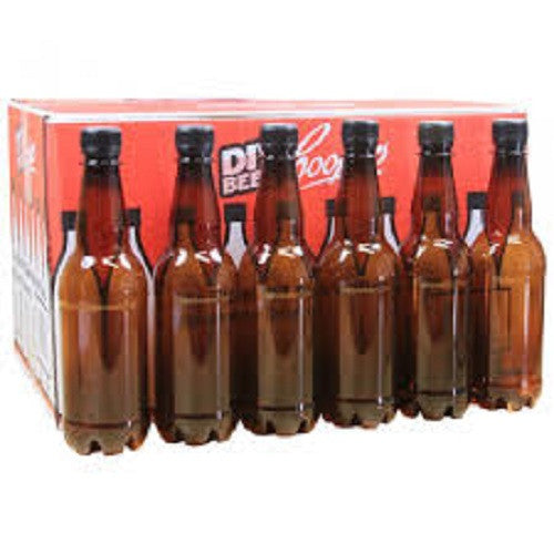 Beer Bottles PET 740ml (Coopers) - 15 Pack