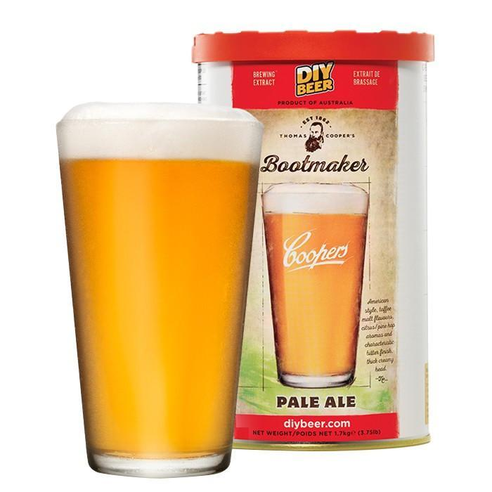 Bootmaker Pale Ale - Thomas Coopers Beer Kit