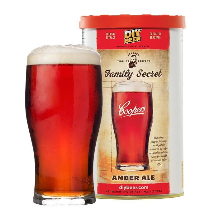 Family Secret Amber Ale - Thomas Coopers Beer Kit