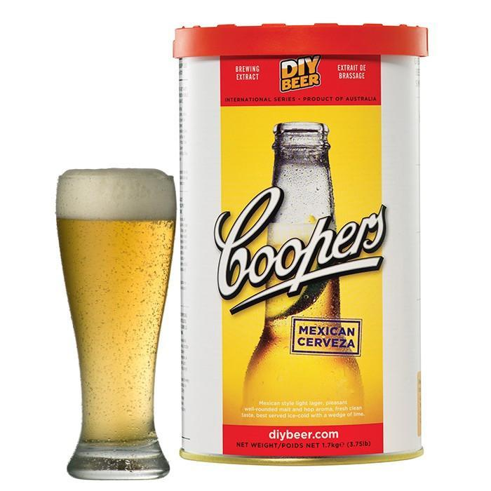 Mexican Cerveza - Coopers Beer Kit