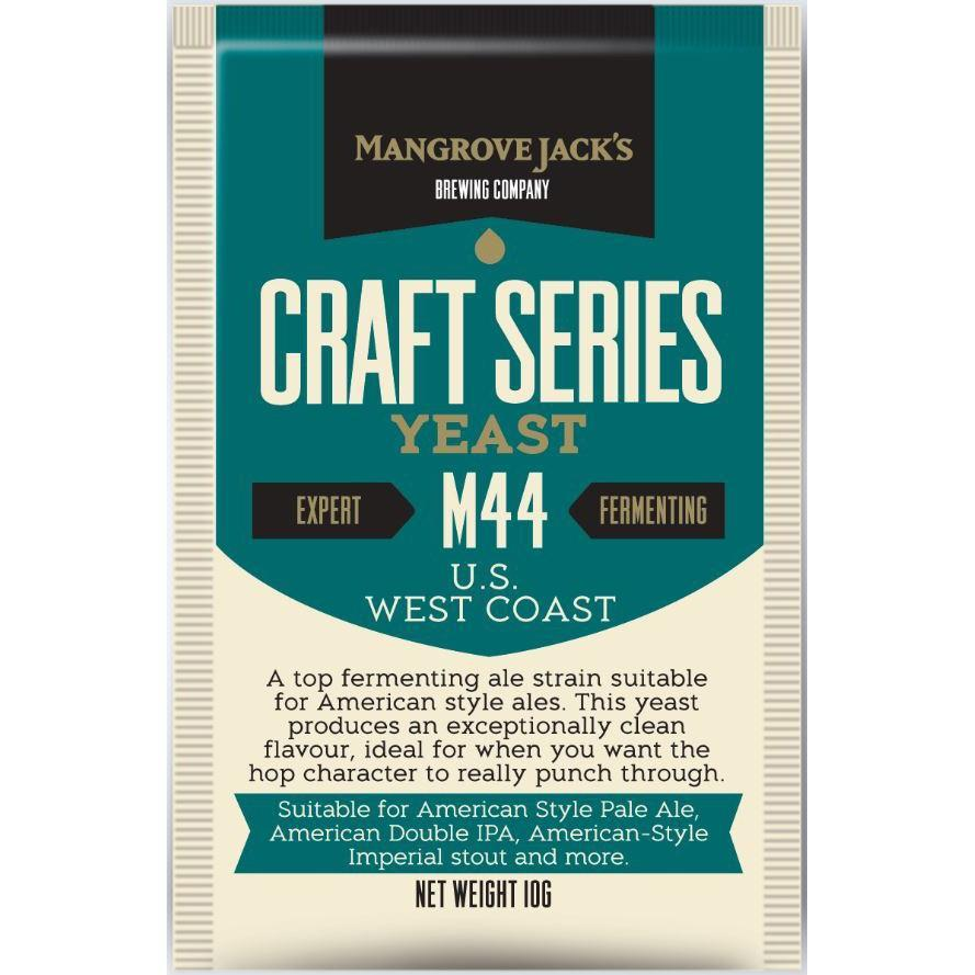 Mangrove Jack's M44 US West Coast Ale Dry Beer Yeast
