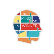 The Mind Of A Winner Kiss-Cut Stickers