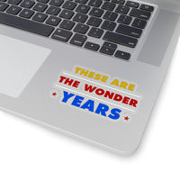 WONDER YEARS STICKER