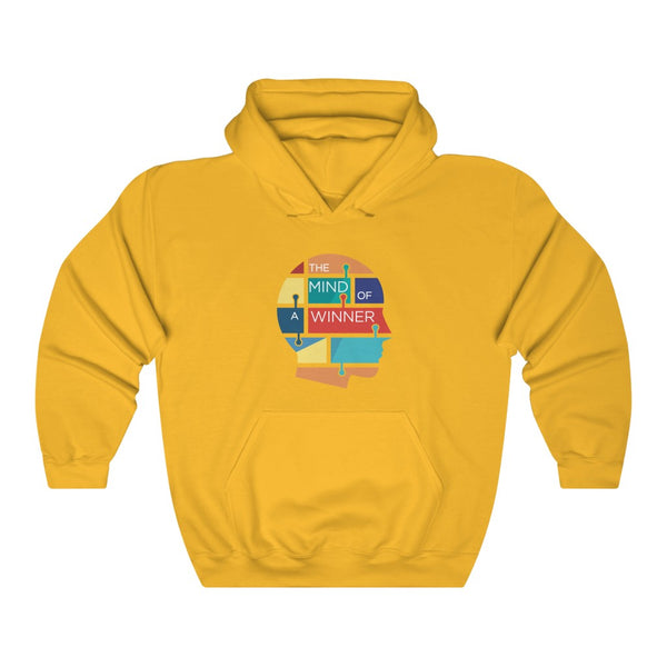 THE MIND OF A WINNER HOODED SWEATSHIRT