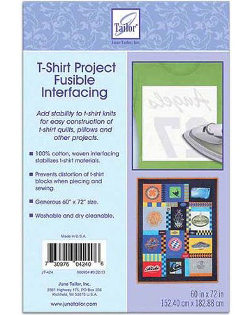 T-Shirt Fusible Interfacing