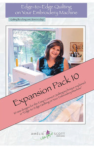 Edge-to-Edge Quilting - Expanded Pack 10
