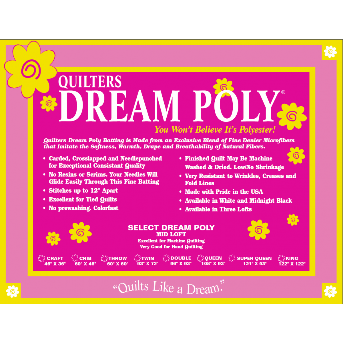 Quilter's Dream Poly Select