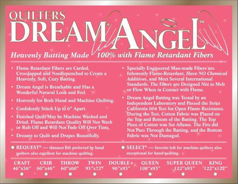 Quilter's Dream Angel Select