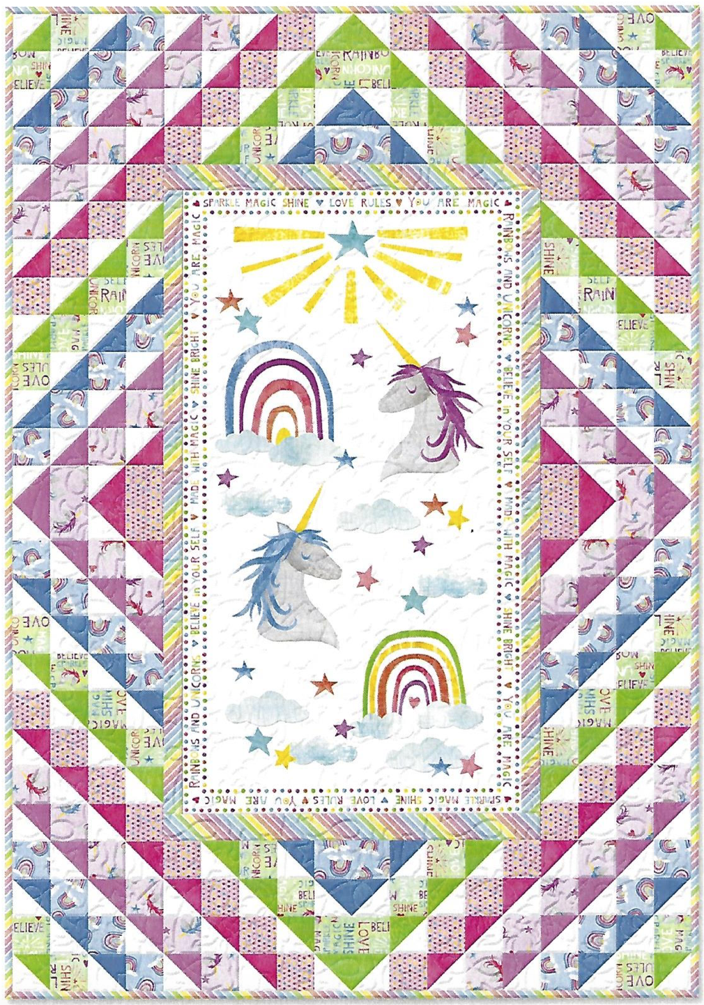 Sparkle Magic Shine Quilt Kit