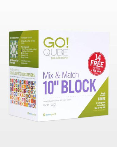 GO! Qube - Mix And Match 10""