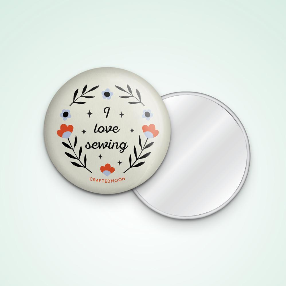 "3"" Pocket Mirror"