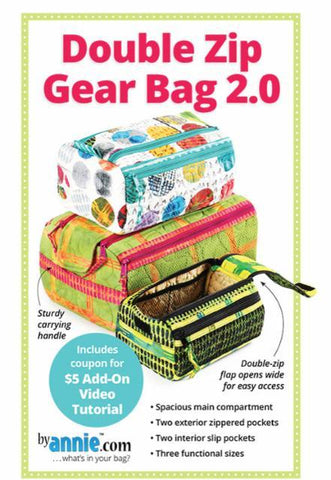 Double Zip Gear Bag 2.0