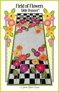 Field Of Flowers Tablerunner