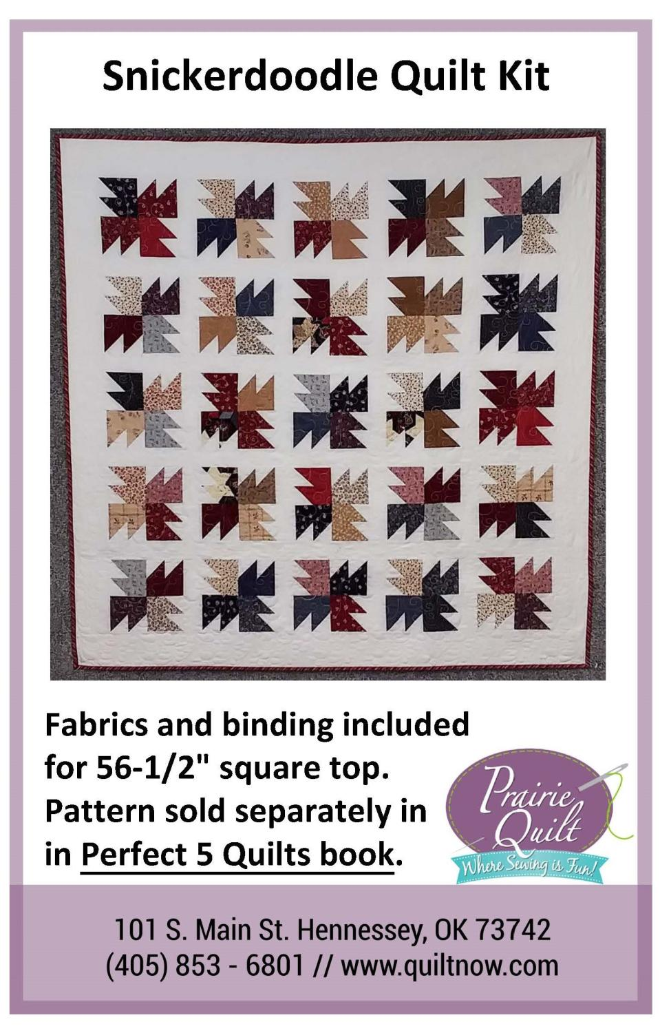 Snickerdoodle Quilt Kit
