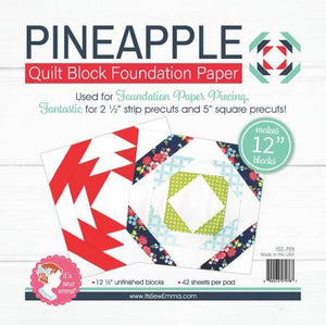 "12"" Pineapple Foundation Paper"