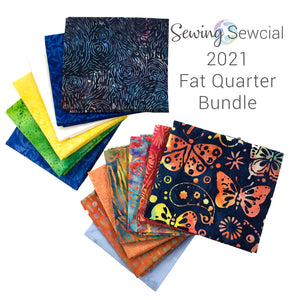 2021 Sewing Sewcial FQ bundle