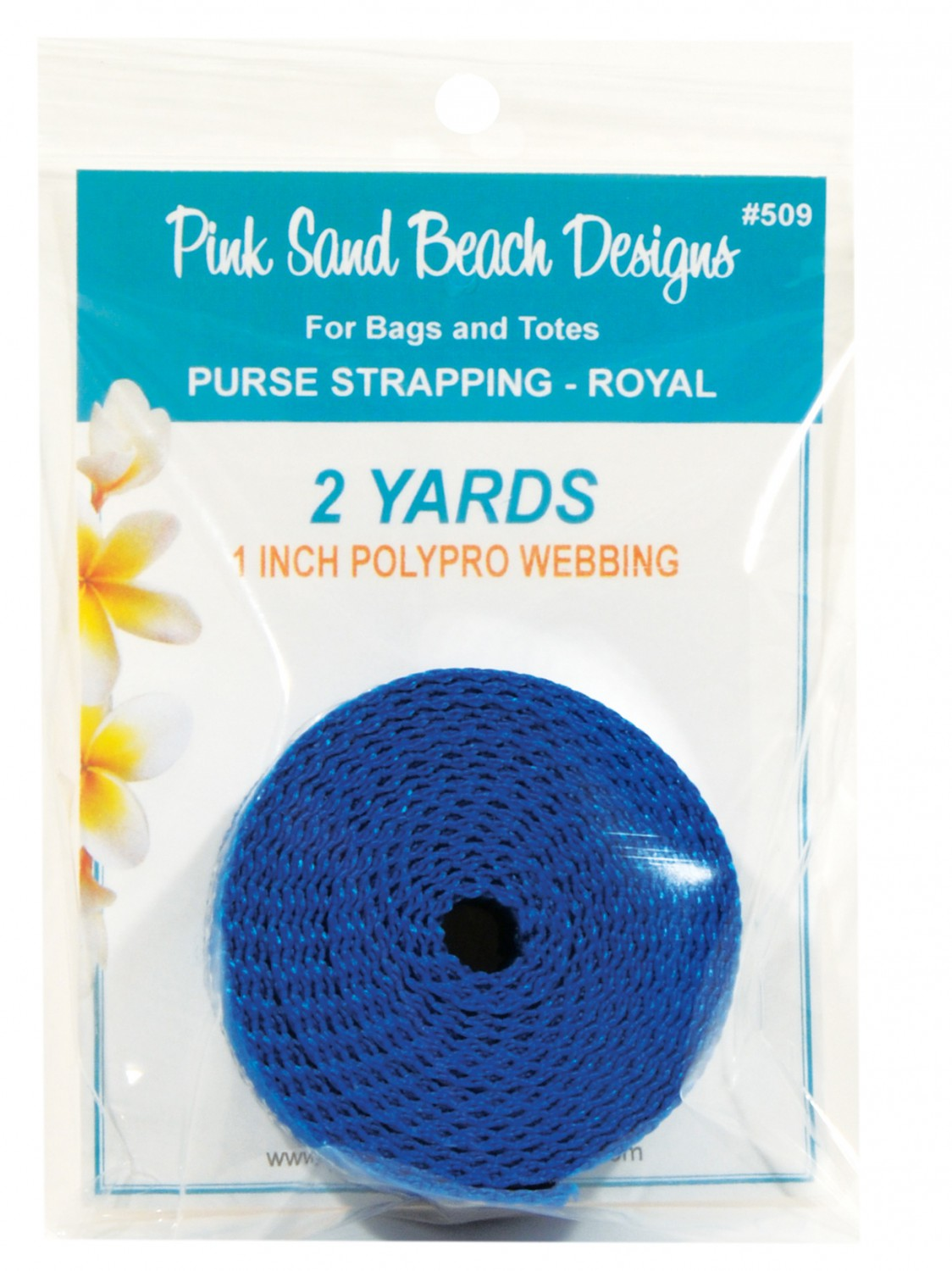 Polypro Webbing - Royal
