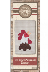 Tea Towel Patternlets-Rooster