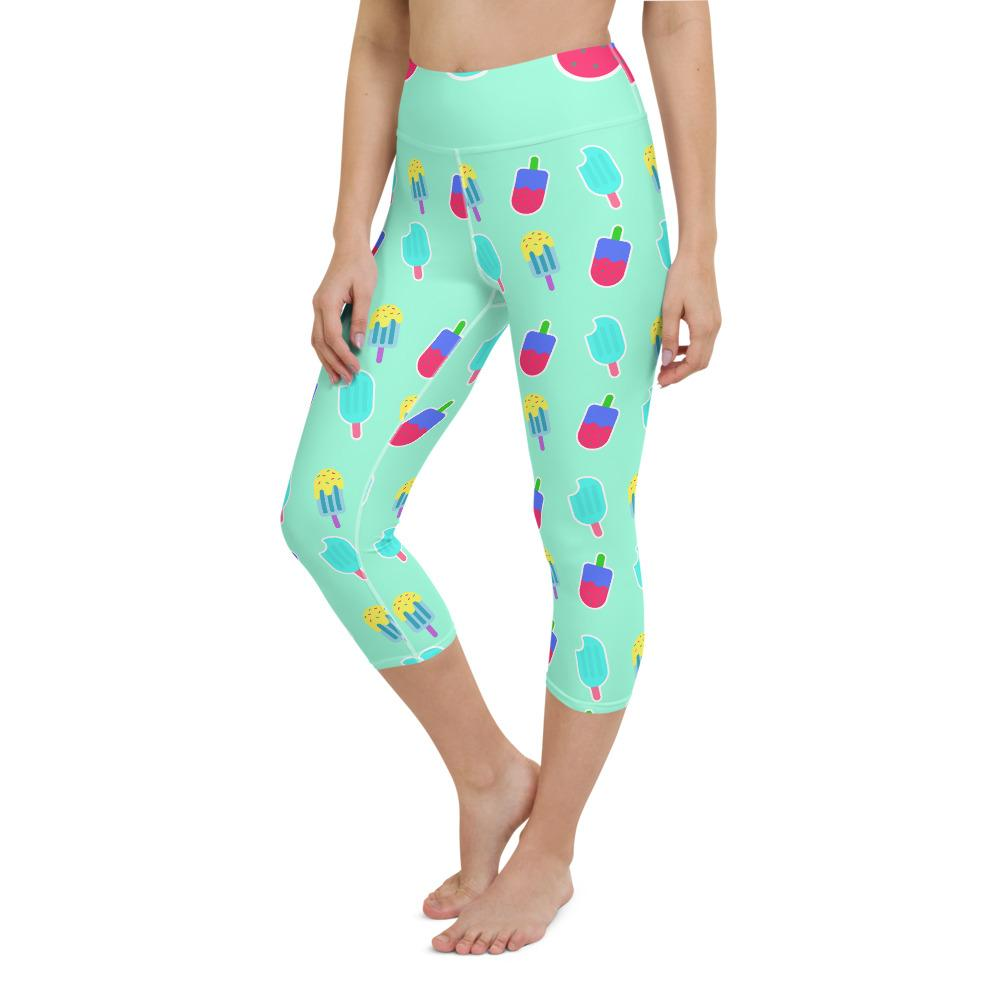 Yoga Capri Legging Ice Cream