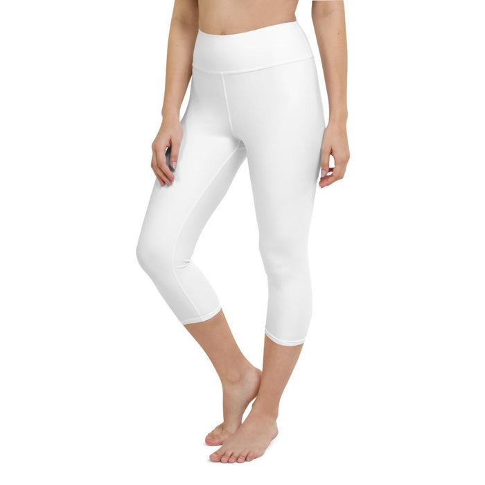Yoga Capri Legging White
